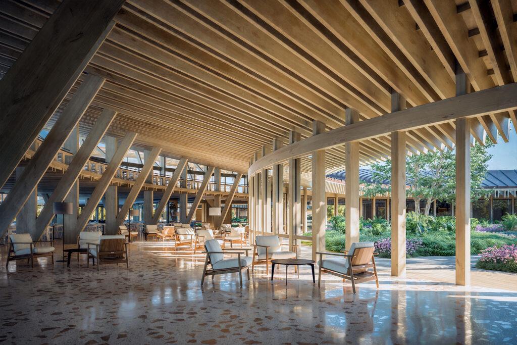 05 Arquitecto Pedro Machado Costa 1825_ResortTroia_Lobby Painted